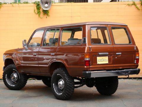 ランクル60 GX FJ62V  カッパ―ブラウンメタリック