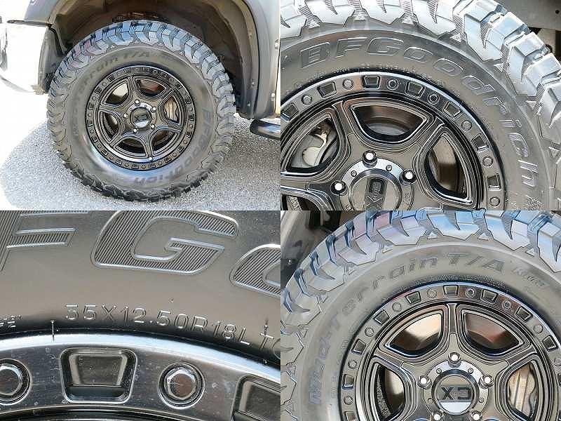 KMC XD139 PORTAL 20インチアルミ BFGoodrich Mud-Terrain T/A KM3 35×12.50R20新車並行2017年 タンドラ 4WD クルーマックス SR5 リフトUP TRDプログリル KMC20インチAW KM3 ブッシュワーカーオーバーフェンダー LEER700ハードトノカバー ALPINEフルセグナビ