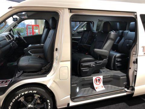 パールワゴン特別仕様車ファインテックツアラー本革シートカバー6