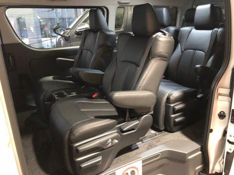 パールワゴン特別仕様車ファインテックツアラー本革シートカバー7