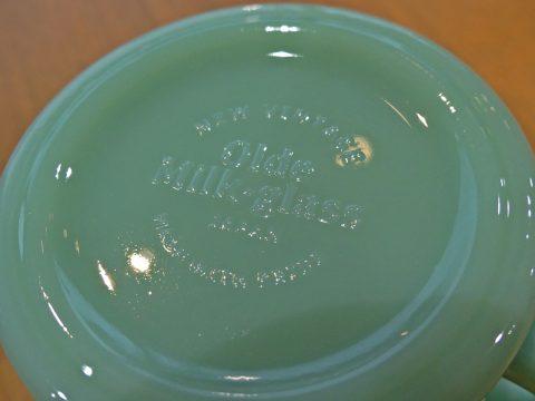 Olde Milk-glass オールドミルクガラス Made in Japan