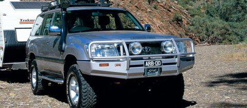 ランクル100(~2002)ARBデラックスブルバー