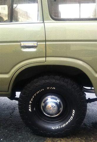 ランクル60 アースグリーン BFグッドリッチATタイヤ