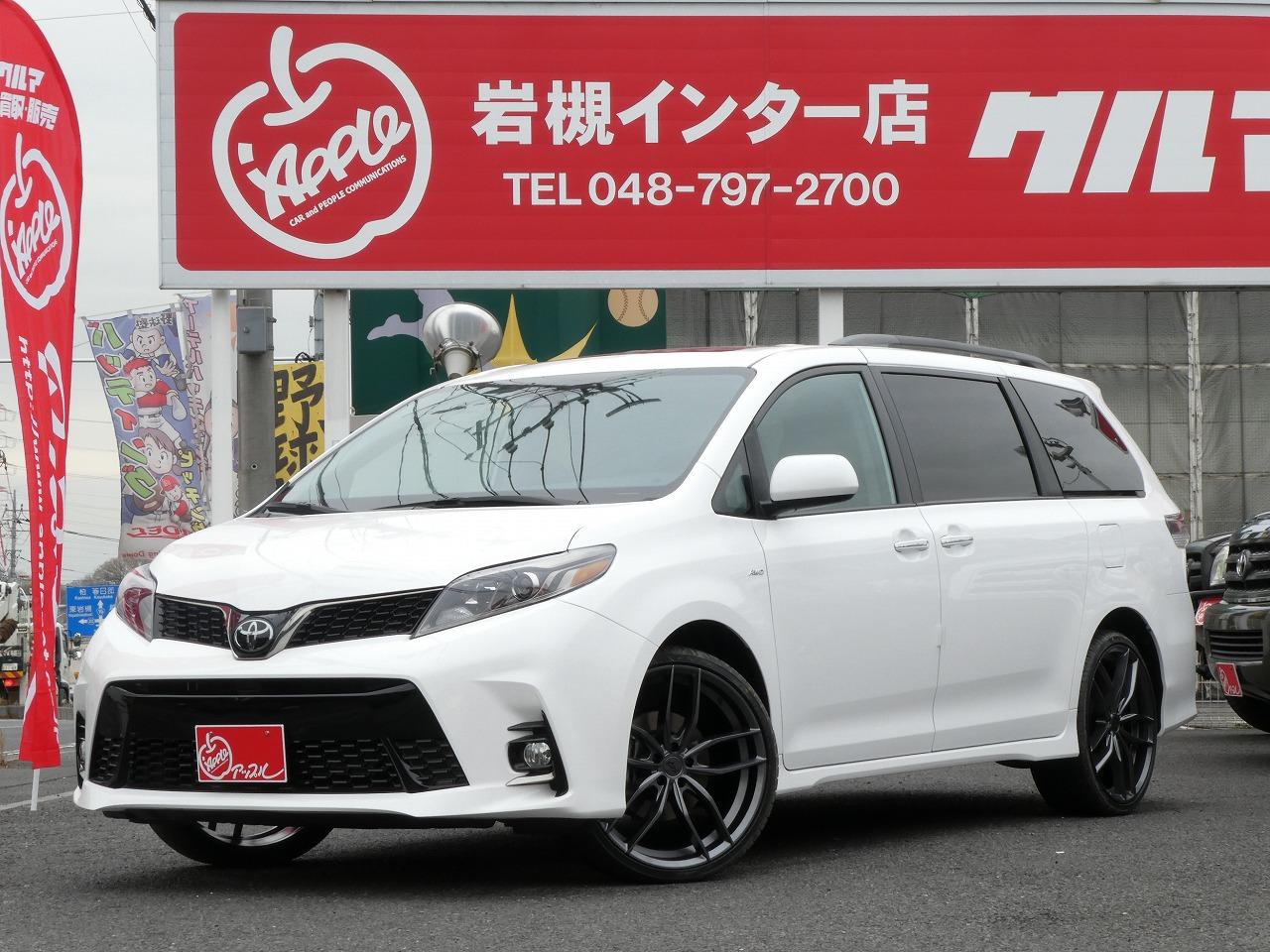 2019 シエナ 新車 輸入車 SE ミニバン キャンプ アウトドア ファミリーカー アメ車 4WD 4駆