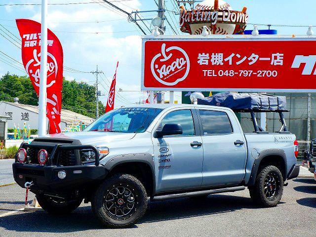 2018y TUNDRA Crewmax 4WD SR5 TRDOffroadPKG ARB LINE-X Asanti Off-Road OLD MAN EMU BP-51 アップル岩槻 USTOYOTA専門店 4×4 4WD ピックアップトラック フルサイズトラック 逆輸入車 アメ車 キャンプ アウトドア