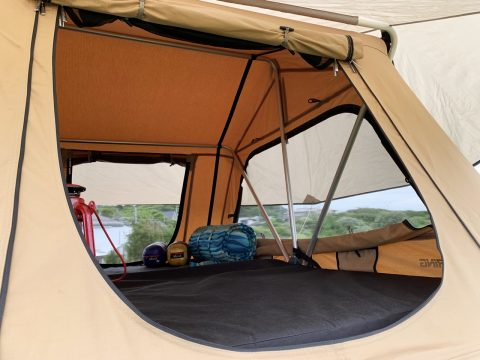 ARBルーフトップテント テント内