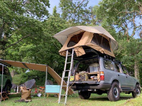 【ARB4x4ルーフトップテント】車中泊ならぬ車上泊!オーバーランダーカスタムで快適なキャンプライフをサポート♪