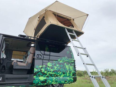 ARB4x4ルーフトップテント ハイエース 車中泊のできる街乗り仕様車 FD-BOX7