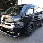 T様オーダー:新車ハイエースワゴン GL FD-BOX3