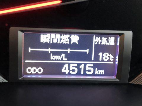 驚きの低走行、4500km台!