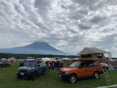 GO OUT CAMP FJクルーザーカラーパッケージ 、プラドTZ 富士山