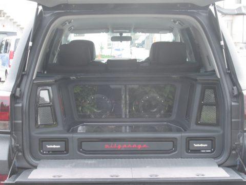 ロックフォード オーディオカスタム ランクル200
