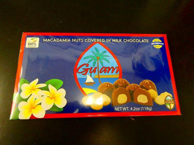 マカダミア チョコレート グアム