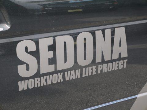 SEDONA専用ボディデカール(オプション)