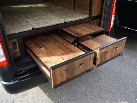 SEDONA:引き出し式テーブル/床下収納