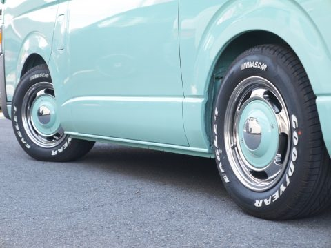 FD-classicアルミ × Goodyear:ナスカー II