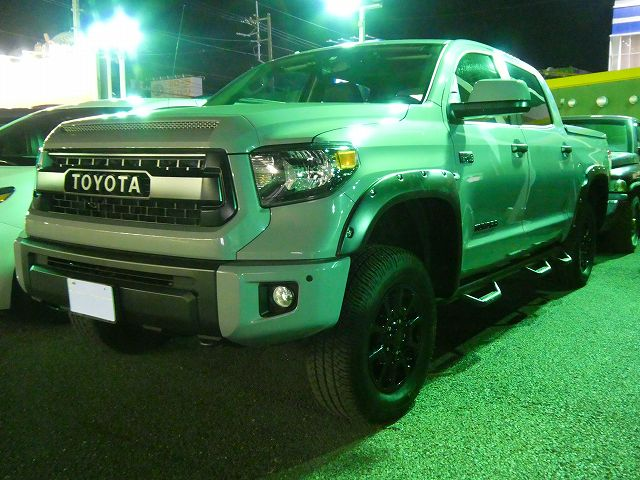 TUNDRA 4WD Crewmax TRDPro Cementgrey Liftup BushWacker Overfender