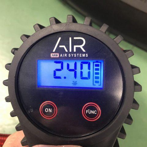 09_キログラムフォース_圧力_ARBデジタル空気入れ