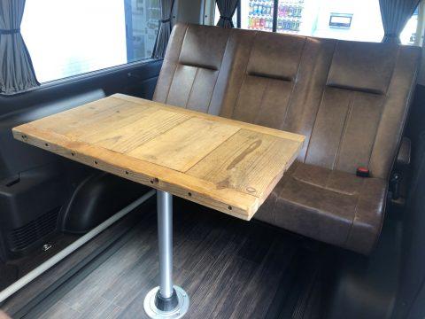 2020y flexdreamデモカー  脱着式テーブル