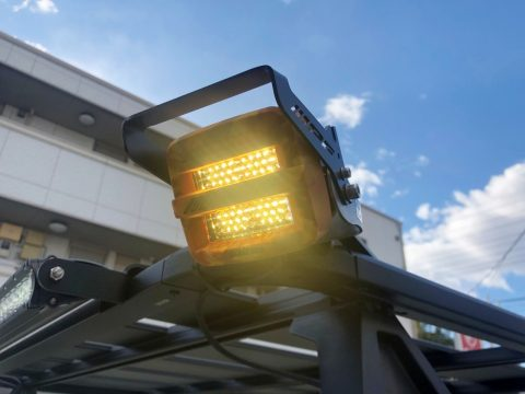 2020y flexdreamデモカー IPF:2インチLEDワーキングランプ II