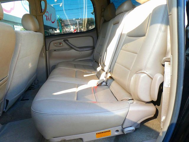 初代タンドラ 4WD ダブルキャブ SR5 フロントベンチシート セカンドシート 6人乗り
