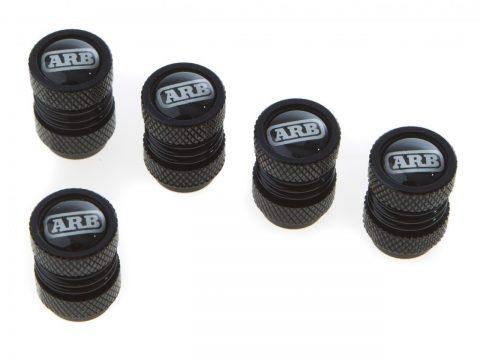ARBタイヤバルブキャップ_ブラック