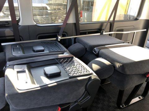 UIビークルベッドキット:運転席側リクライニング&フレーム取付