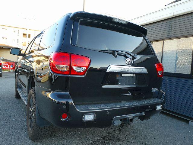 新車並行 2011年 セコイア 4WD LIMITED LED バックランプ