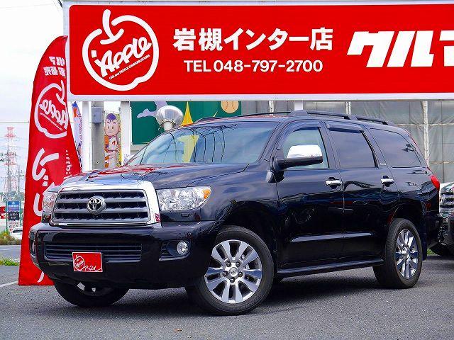 2011yセコイア 4WD LTD 現行TRDPRO顔面移植!!!