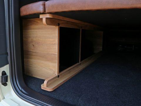 ヴィンテージに仕上げたFD-BOXベッドキット