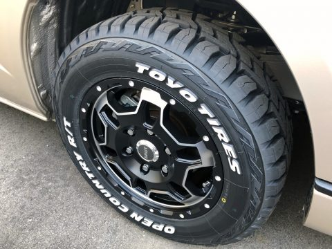 最新のホワイトレター×荷重指数対応タイヤ