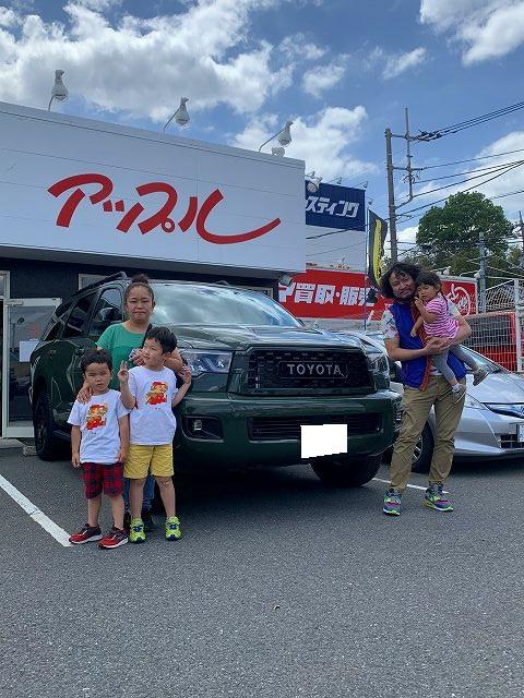 セコイア 4WD TRDPRO 現行 新色 アーミーグリーン 限定色