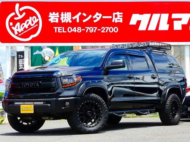 カスタム盛りだくさん!1オーナー 新並2015y タンドラ 4WD クルーMAX SR5 入庫!!