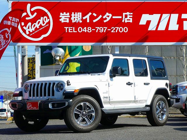 ☆☆☆希少な左ハン【新並】Jeep Wrangler Unlimited Sahara☆☆☆