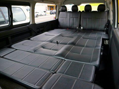 FD-BOX2:フルフラットモードで車中泊に♪
