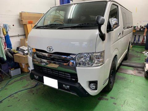 ワンオフ製作!!F様のハイエースバンS-GL FD-BOX7完成!!