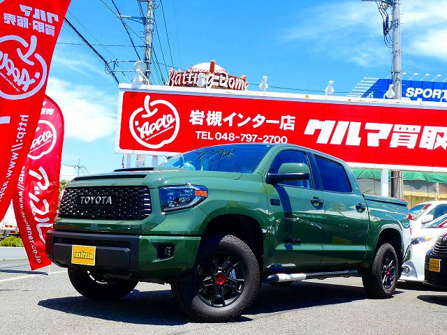 NEW COLOR!! 2020y TUNDRA Crewmax 4WD TRDPRO ArmyGreen ご納車しました~☆