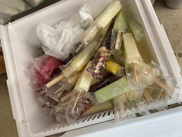 アイス いっぱい 冷蔵庫 タンドラ 欲張りスタッフ
