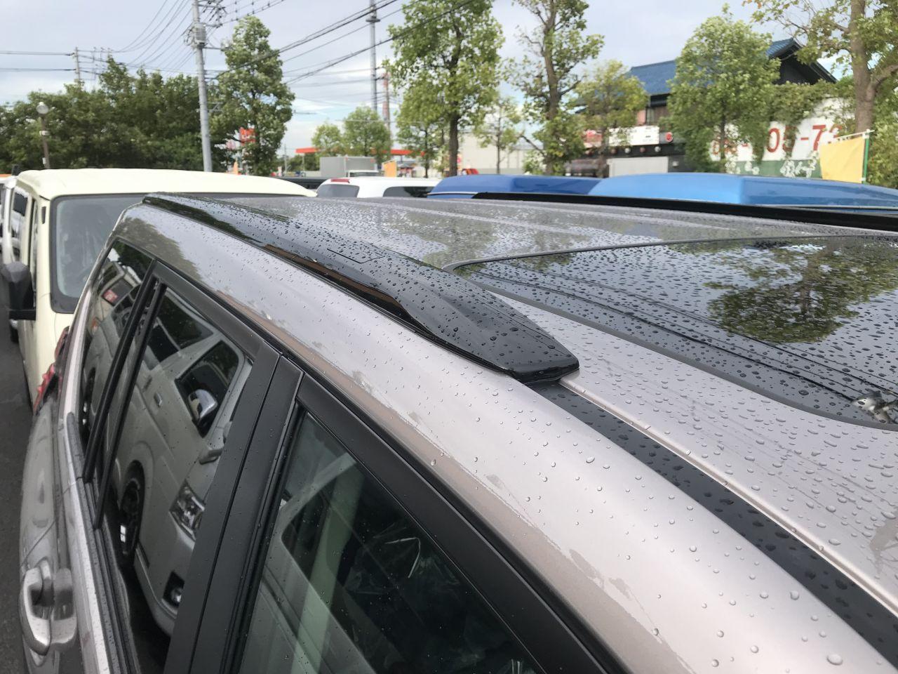 新車150プラド TX-L❝Black Edition❞専用ルーフレール(ピアノブラック塗装)