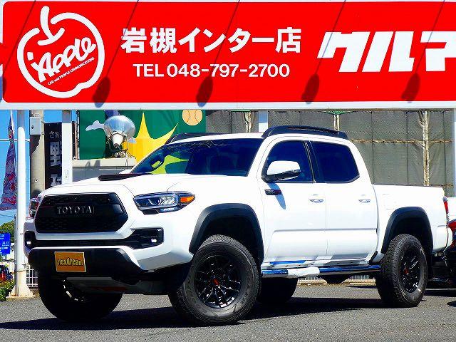 USトヨタ タコマ 4WD ダブルキャブ TRDプロ