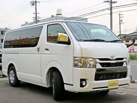 新車ハイエースバン S-GL ナロー FD-BOX7 vanlife