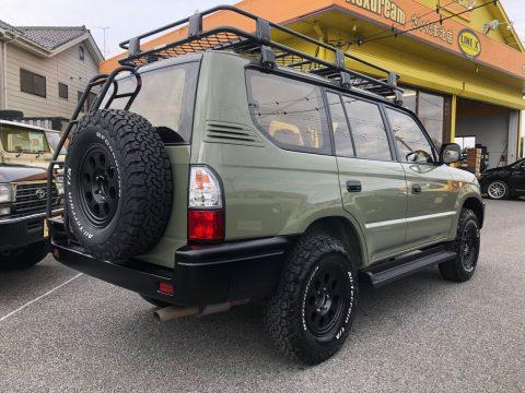 95プラド ご納車 ARB4×4 LINE-X塗装