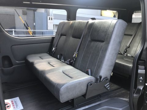 4ナンバー8名乗車FD-BOX5【ヴィンテージブラック】
