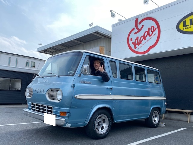 フォード エコノライン 旧車