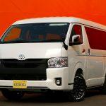【仕様変更】新車ハイエースW GL 4WD FD-BOX2
