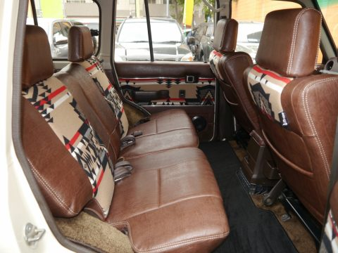 ランドクルーザー60VX ペンドルトンコラボビンテージシートカバー