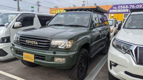 当店商品車 ランクル100 に RhinoRack & Sunseeker オーニングを取り付けました🎶