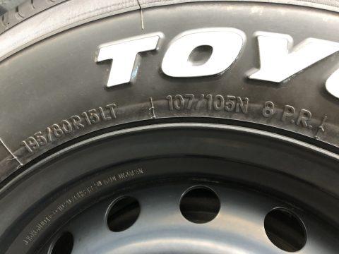 TOYO製H20 15インチ