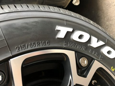 TOYO製H20 16インチ