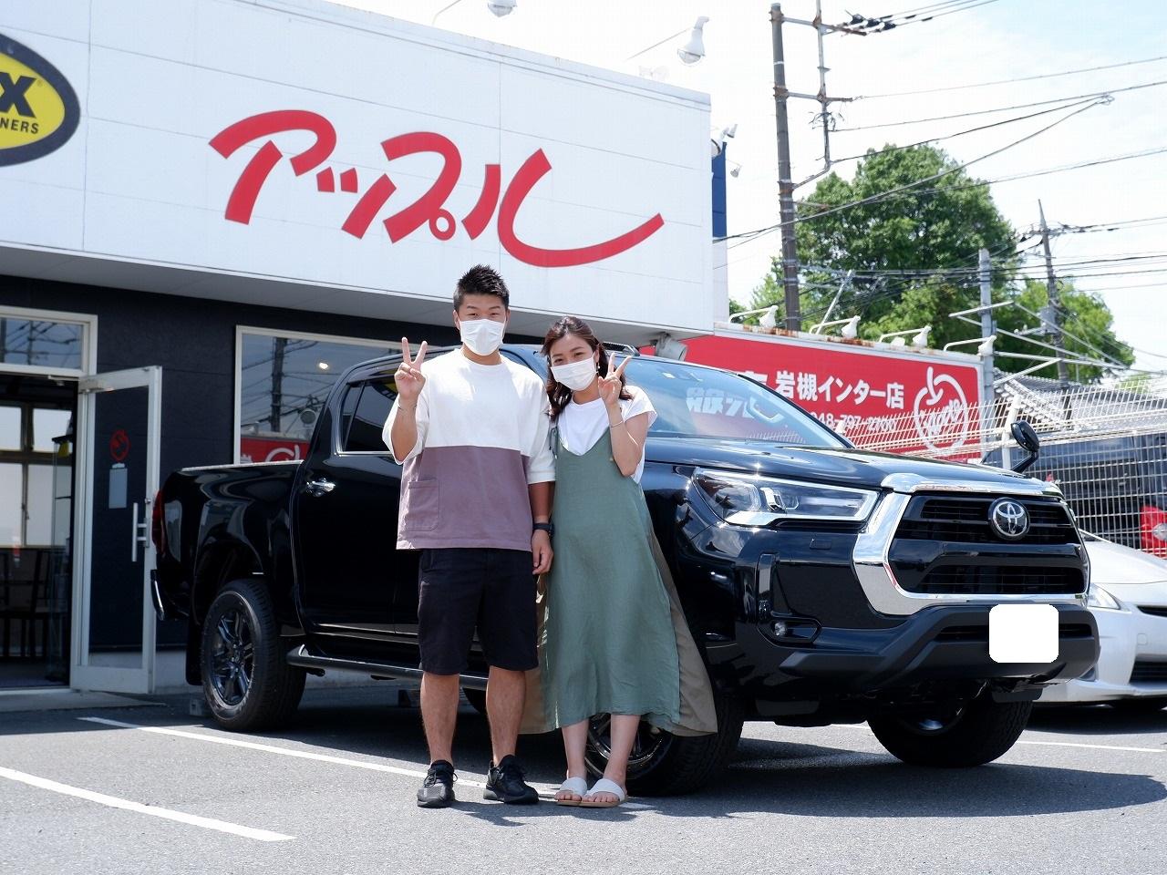 ハイラックス ピックアップ custom ナビ トラック ジャパン アップル岩槻